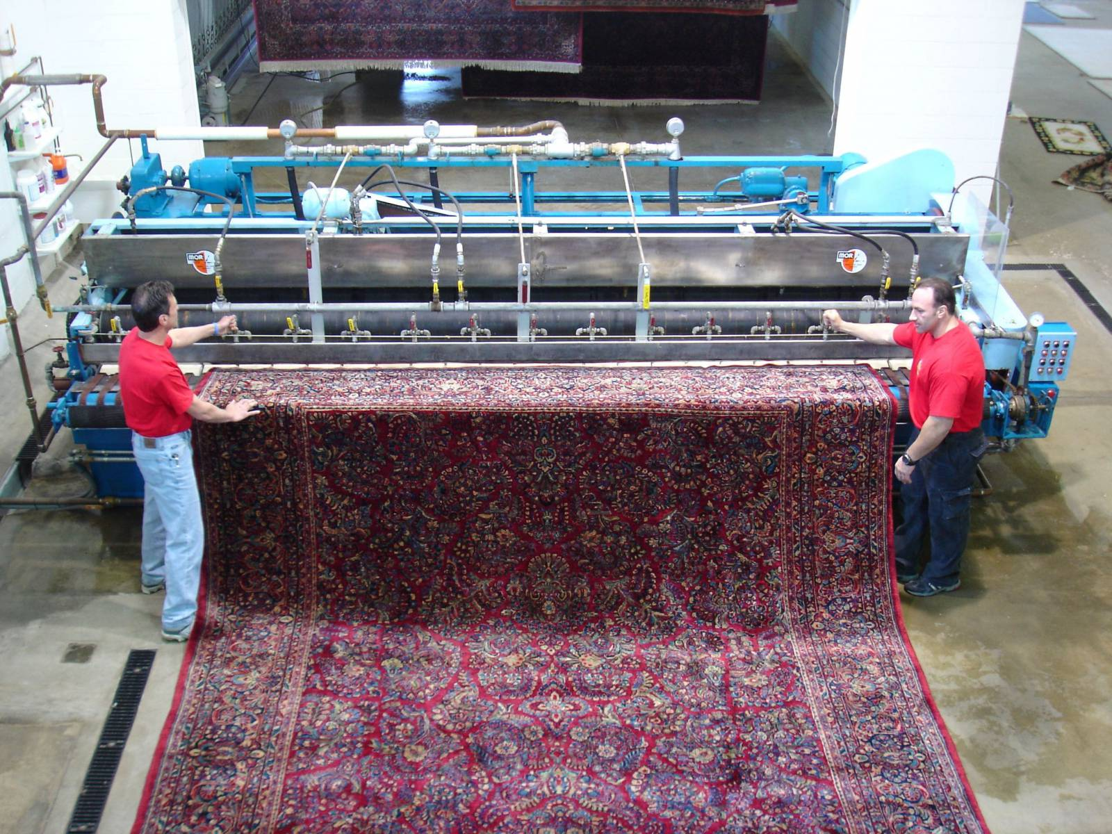 قالیشویی و شست و شوی فرش در تهران